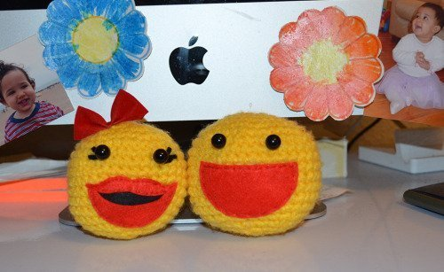 Amigurumi Pacman : Crochet Pac-Man and Ms. Pac-Man! My 1st Attempt at ...