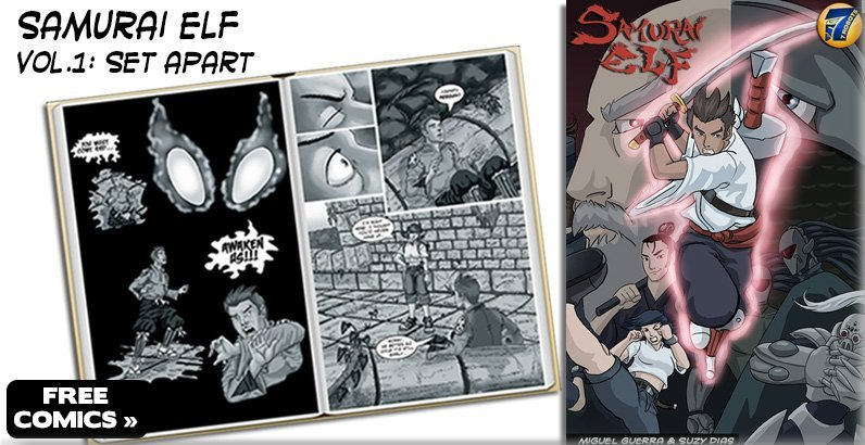 FREE Comics! Entire volume of Samurai Elf vol.1