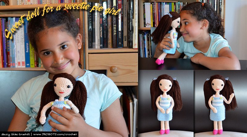 Sweet Crochet Doll for a Sweetie Pie Little Girl