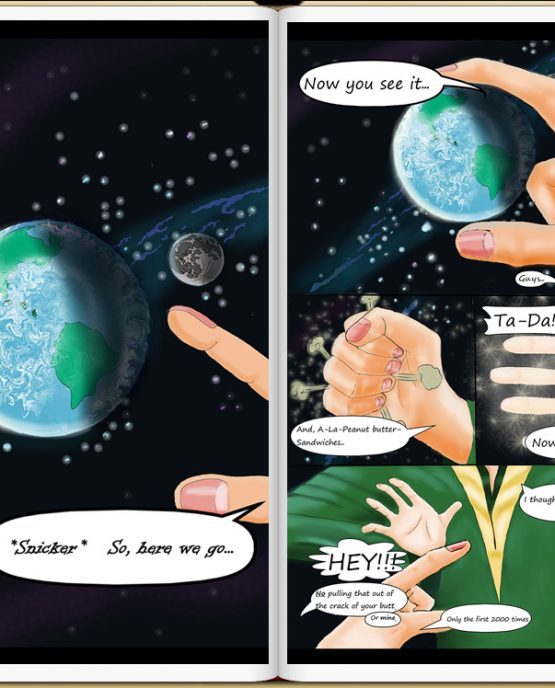Earth Dream vol2 sample page: FREE Indie Anthology