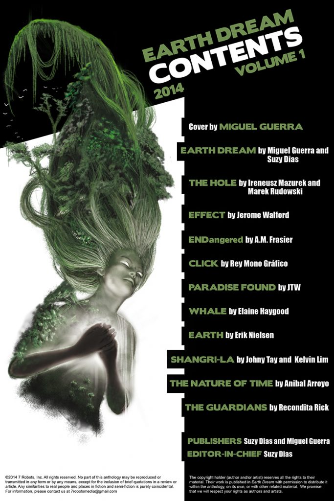 Earth Dream vol 1: FREE Indie Anthology