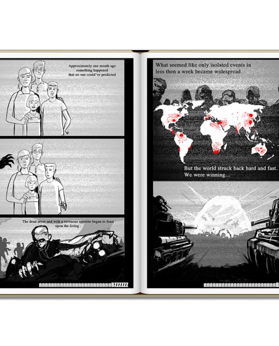 Earth Dream vol1 sample page: FREE Indie Anthology