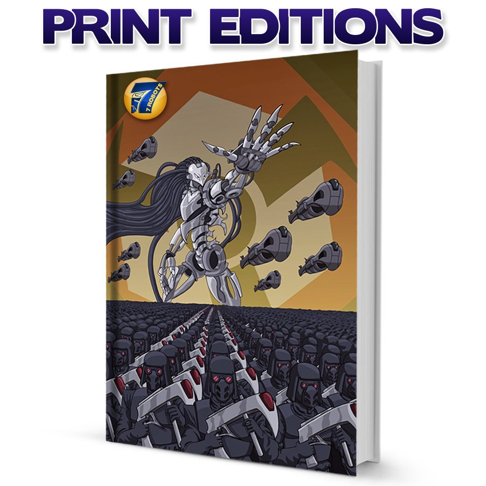 7 Robots Shop Print Books & Comics