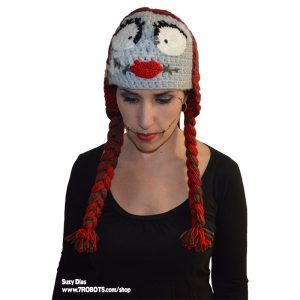 Crochet Nightmare Sally Hat Handmade by Suzy Dias