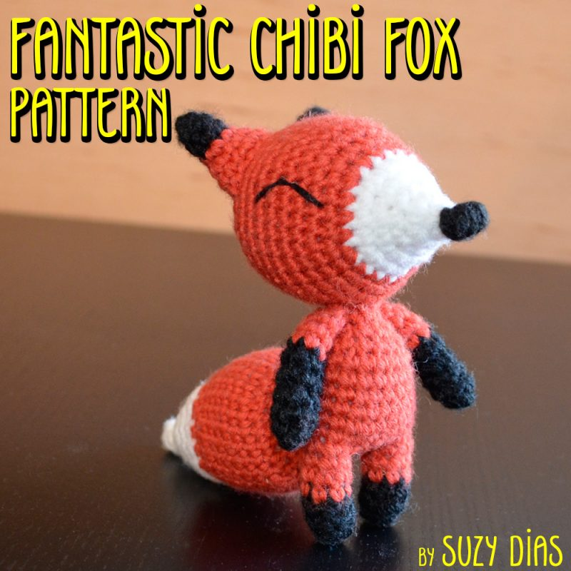Fantastic Chibi Fox Pattern by Suzy Dias
