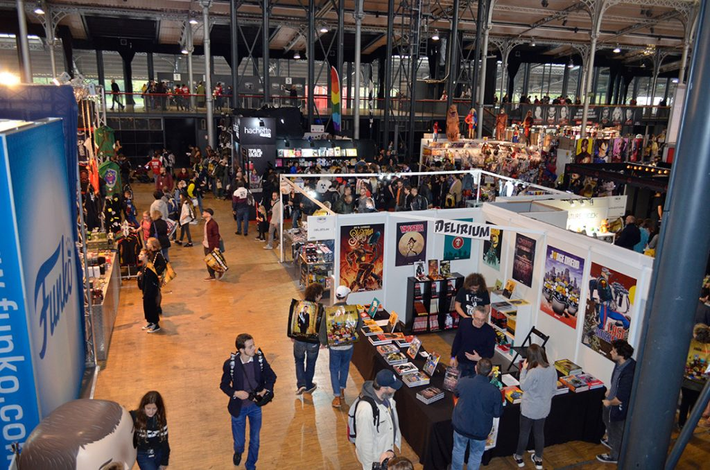 Paris à la Geek at the Paris Comic Con 2017
