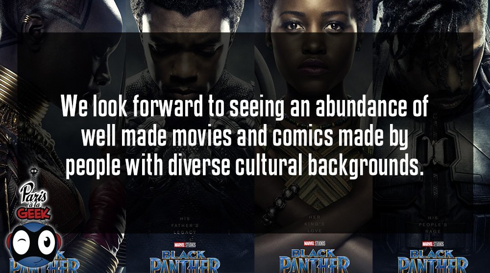 BLACK PANTHER Movie Review (No Spoilers) for Paris à la Geek