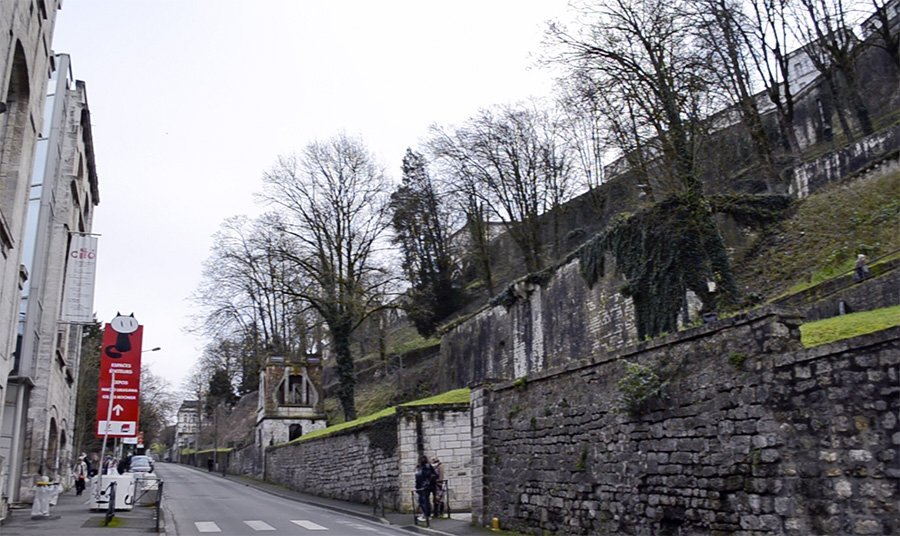 Angouleme ramparts (walls around the city)