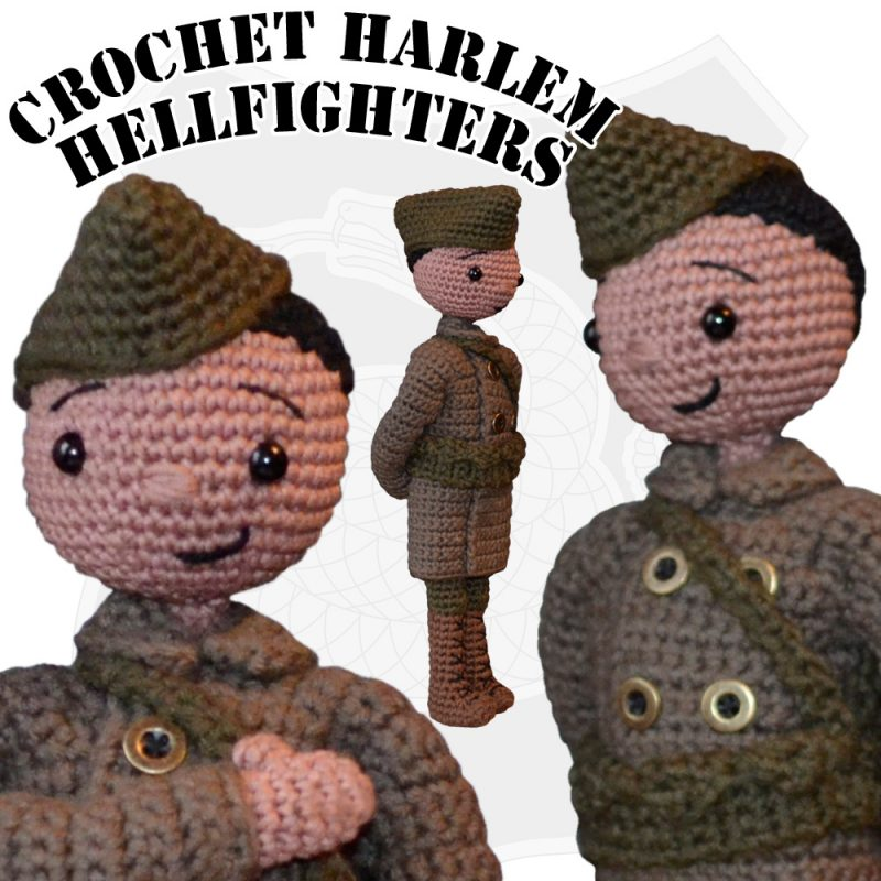 Crochet Harlem Hellfighter by Suzy Dias