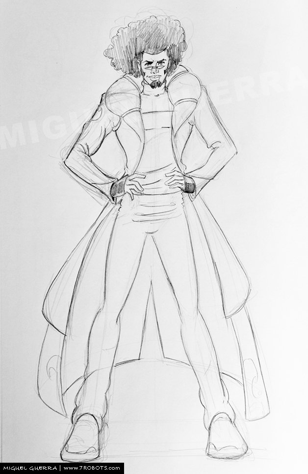 Miguel Guerra Sketching Practice: Drawing the Full Body