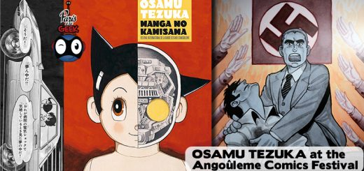 Paris à la Geek Osamu Tezuka at the Angouleme International Comics Festival 2018
