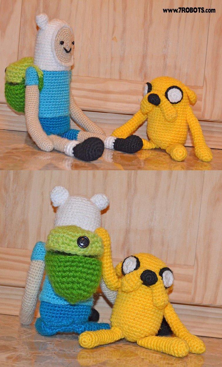 Ravelry: Finn - Adventure Time pattern by Janine Tsakisiris | 1248x756