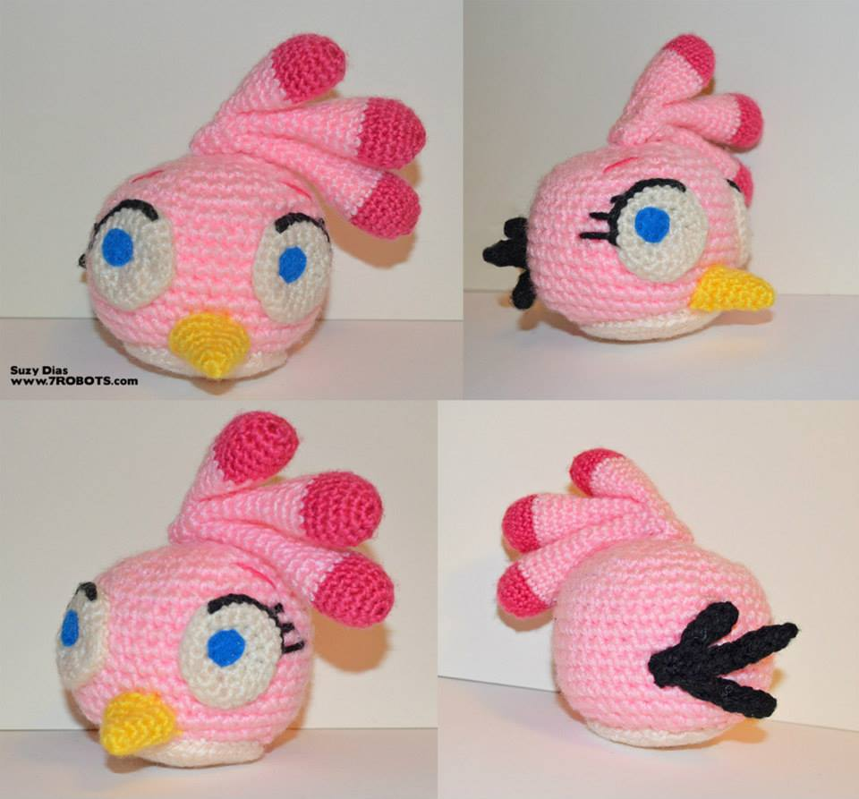 Bird Amigurumi - Fur Bird Free Crochet Pattern | Crochet bird ... | 893x960