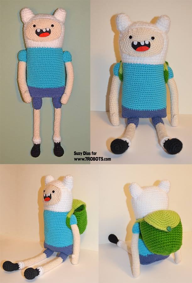 Adventure Time crochet patterns | 900x611