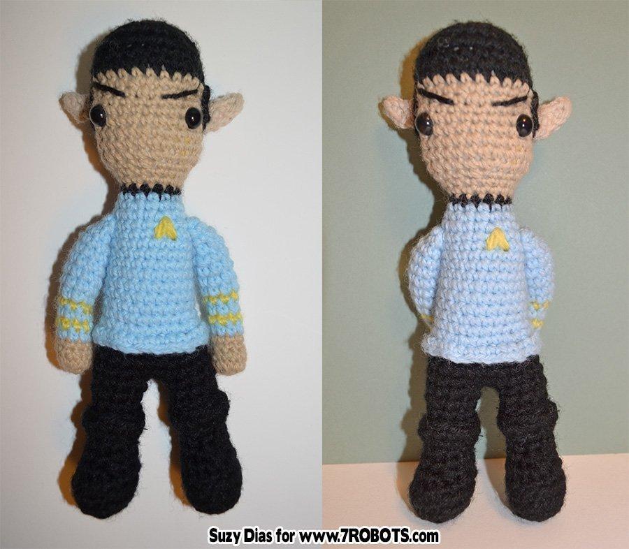 Star Trek Logo Crochet Pattern-CGMT-104361 | 786x900