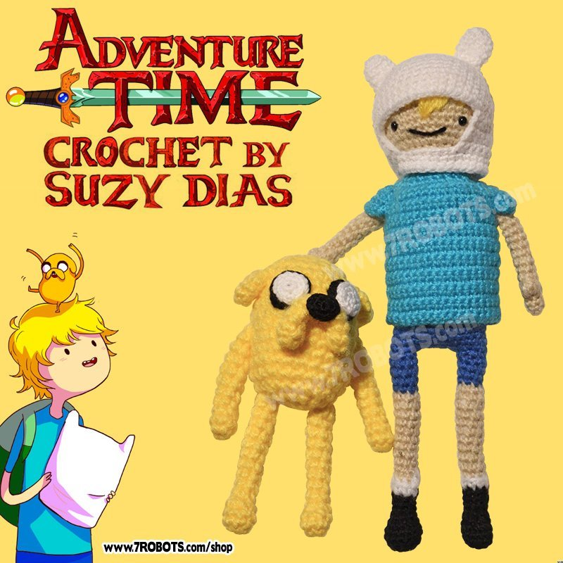 Adventure Time Crochet Patterns | Gadgetsin | 800x800