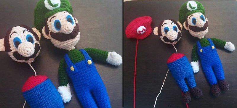 90521a5de2b The Making of Crochet  SuperMario    Luigi by  SuzyDias