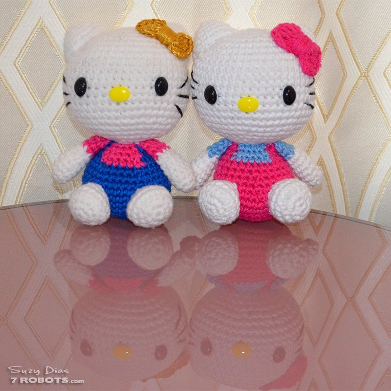 Crochet Hello Kitty Amigurumi Cuteness By Suzy Dias