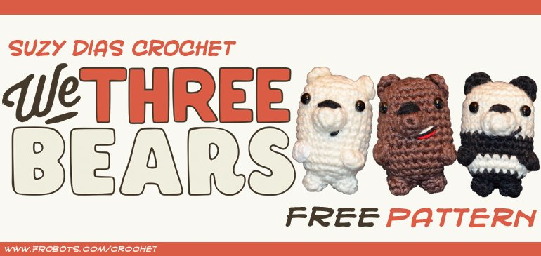 Product Detail - Perfect Giving:Crochet We Bare Bears | 365x770