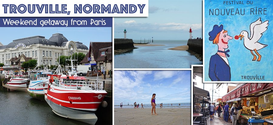Closest Beaches To Paris Try Deauville Trouville In Normandy Pt 1